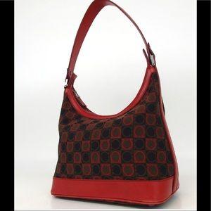 Authentic Salvatore Ferragamo shoulder bag